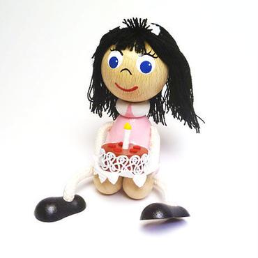 チェコおすわり人形 メイドさん ABAfactory