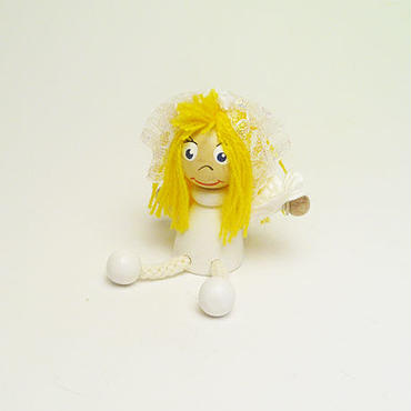 ミニ人形マグネット 花嫁