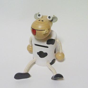 貯金箱 牛