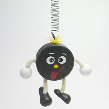 チェコのおすわり人形 パックくんバネ付人形