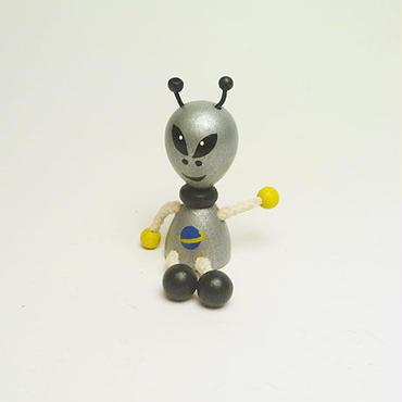 ミニ人形マグネット 宇宙人