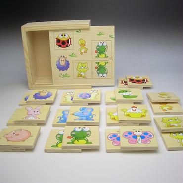 木製影絵パズル