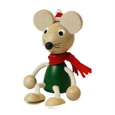 チェコおすわり人形  マウス・ウィンターバージョン  ABAfactory