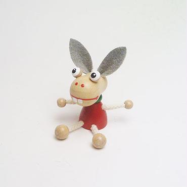 ミニ人形マグネット ロバ