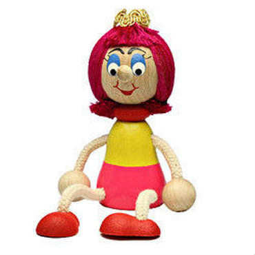 チェコおすわり人形 プリンセス LUMAZ+ブランコ