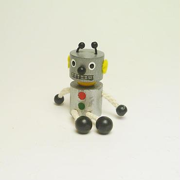 ミニ人形マグネット ロボット