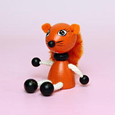 ミニ人形リス