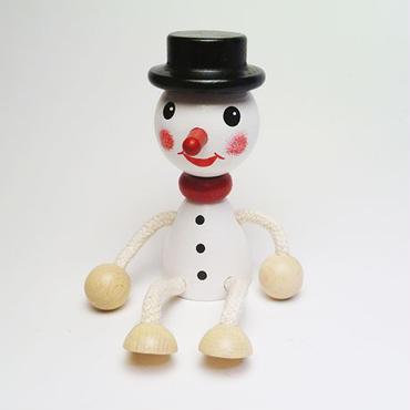 チェコおすわり人形 スノーマン ABAfactory