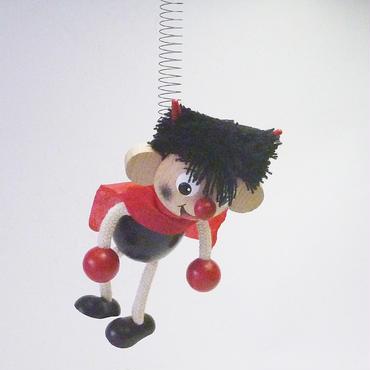 チェコのおすわり人形 悪魔くんバネ付人形
