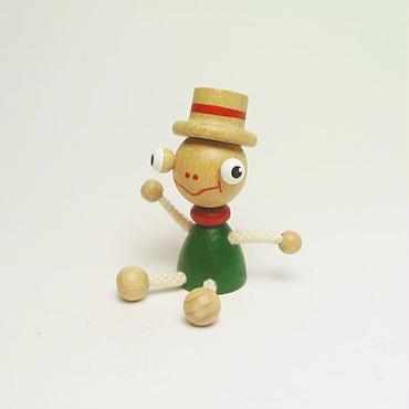 ミニ人形マグネット カエル