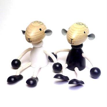 チェコおすわり人形 羊のペア ABAfactory