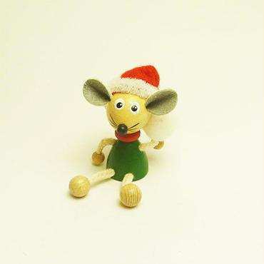 ミニ人形 クリスマスマウス