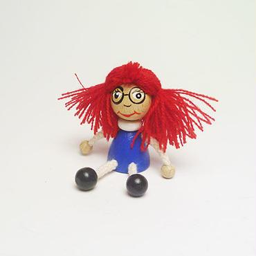 ミニ人形マグネット マニカ