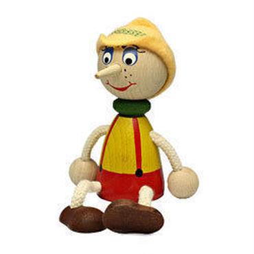 チェコおすわり人形 ピノキオ LUMAZ +ブランコ