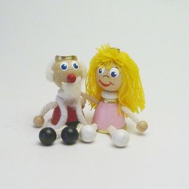 ミニ人形 キングとプリンス2体セット