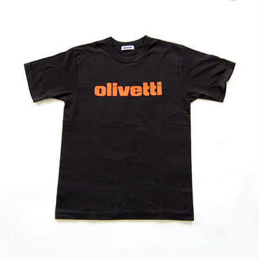 Olivetti Tシャツ (ブラック)
