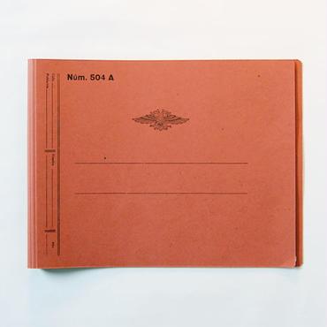 CATALA 2穴ファイル(A4サイズ・レッド)