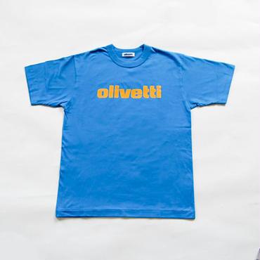 Olivetti Tシャツ (ブルー)