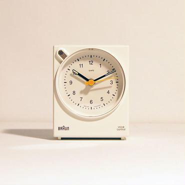 BRAUN アラームクロック ボイスコントロール BNC004(ホワイト)