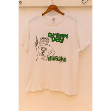 "GREENDAY 90'S  ""KERPLUNK"" プリントTシャツ"