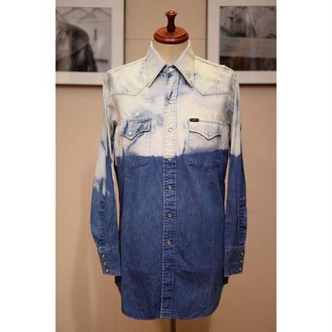 LEE 70'S ブリーチデニムウエスタンシャツ