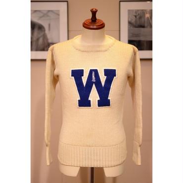 PRINCETON 60'S レタードニットセーター