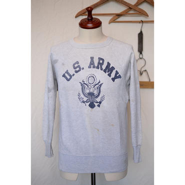 "60'S ""U.S.ARMY"" プリントスウェット"