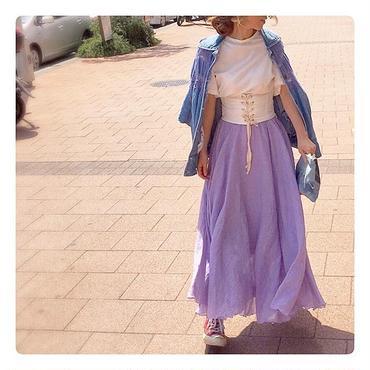 Linenロングスカート