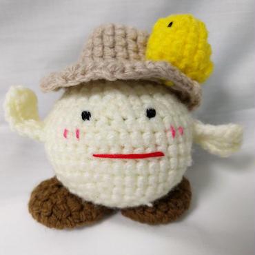 あみモケラさん(帽子あり)