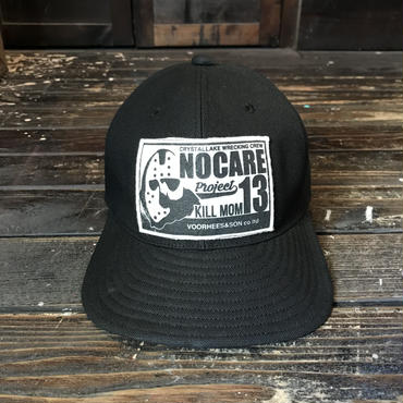 NOCARE/6 PANEL WORK CAP #02_BLACK