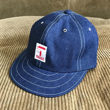 5656WORKINGS/5656LOGO CAP_DENIM