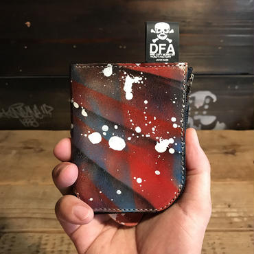 DFA/SPACE DRIPPING L型 WALLET_01