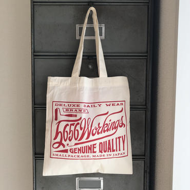 5656WORKINGS/MAGAZINE BAG_RED