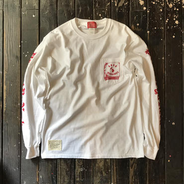 5656WORKINGS/PYN POCKET L/S_WH