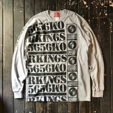 5656WORKINGS/DBTH L/S UNIFORM_GRAY