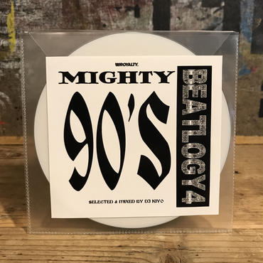 【 MIX CD】DJ  KIYO/MIGHTY 90's BEATLOGY 4