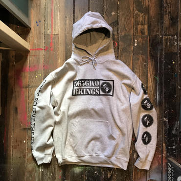 5656WORKINGS/DBTH TEAM HOODIE_GRAY
