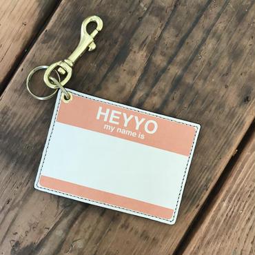 DFA/HEYYO! CARD CASE_ORANGE