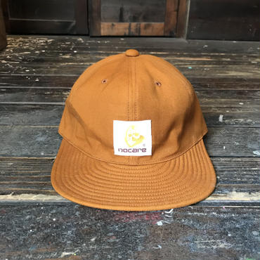 NOCARE/6PANEL CAP_BROWN DUCK