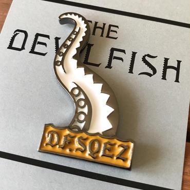 DF.SQEZ/DEVL FISH PIN BATCH_WHITE