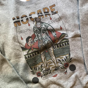 NOCARE/JASON LIVES SWEAT_GRAY