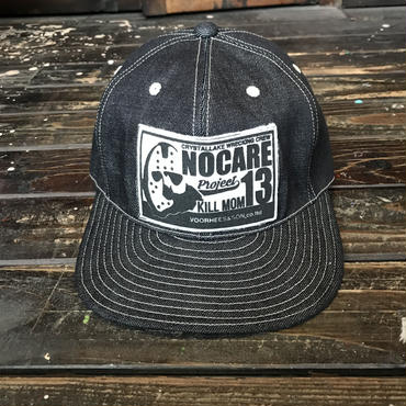 NOCARE/6PANEL DENIM WORK CAP
