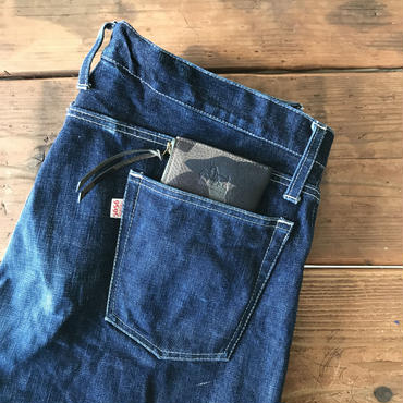 5656WORKINGS/L MOLD ITALY LEATHER WALLET_WLxYEL