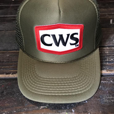 5656WORKINGS/CWS MESH CAP_ARMY GREEN