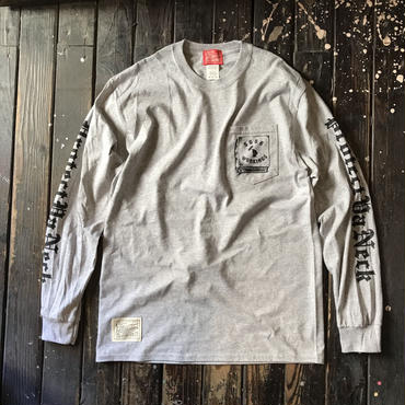 5656WORKINGS/PYN POCKET L/S_GRAY