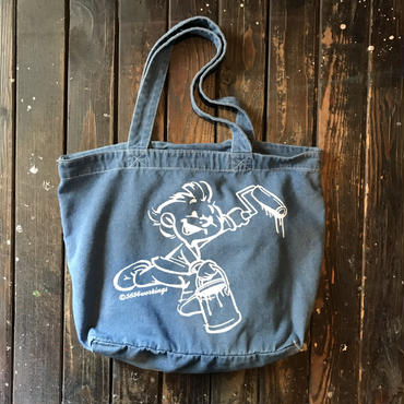 5656WORKINGS/5656BOY DENIM TOTE_DENIM