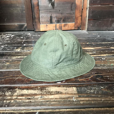 BROWNIE/SIX PANEL HAT_OD GREEN