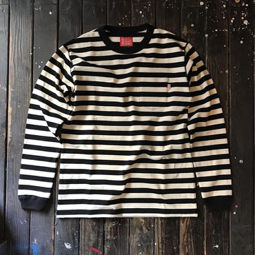 5656WORKINGS/BORDER L/S UNIFORM_BKxNT