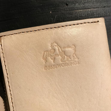 5656WORKINGS/L MOLD LEATHER WALLET_NUME