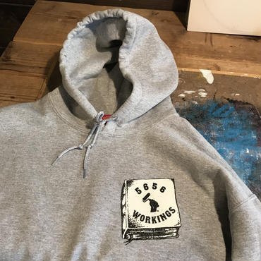 5656WORKINGS/PYN SPECIAL TEAM HOODIE_GRAY